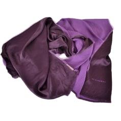 Scarf BURBERRY Purple, mauve, lavender