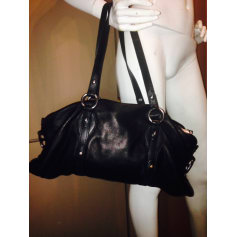 814ff3aa228c Leather Handbag RALPH LAUREN Black