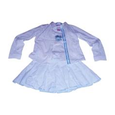 Shorts Set, Outfit ESCADA White, off-white, ecru