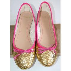 Ballet Flats MANGO Golden, bronze, copper