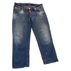 Jeans évasé, boot-cut DSQUARED Bleu, bleu marine, bleu turquoise