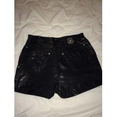 Shorts   Pantacourts Femme Simili cuir de marque   luxe pas cher ... b3beb0cabef