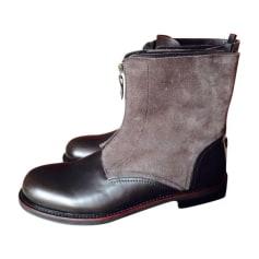 Boots EMPORIO ARMANI Brown