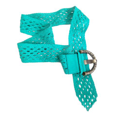Wide Belt BALLY Green