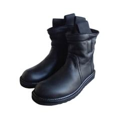 Boots RICK OWENS Black