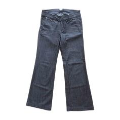 Jeans large, boyfriend RALPH LAUREN Bleu, bleu marine, bleu turquoise