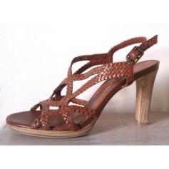Sandales à talons BRUNO PREMI Marron