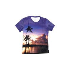 Tee-shirt BILLTORNADE Violet, mauve, lavande