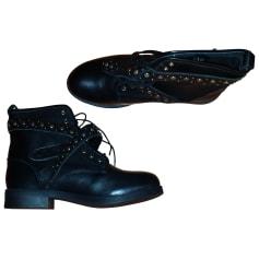 Bottines & low boots plates ASOS Noir