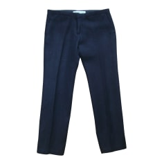 Pantalon slim, cigarette GOLDEN GOOSE Noir