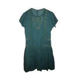 Robe courte ISABEL MARANT Vert
