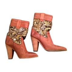 Cowboy Boots D&G Brown