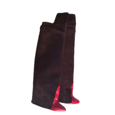 Bottes cuissards GIVENCHY Marron