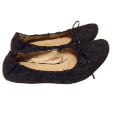 Ballet Flats LOUIS VUITTON Bleu denim