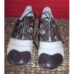 Chaussures à lacets  REGARD Beige, camel