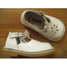 Chaussures à boucle ASTER Blanc, blanc cassé, écru