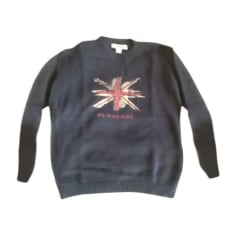 Sweater BURBERRY Blue, navy, turquoise