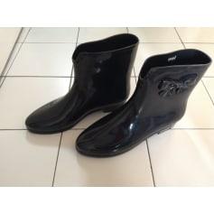 Bottines & low boots plates MEL BY MELISSA Noir