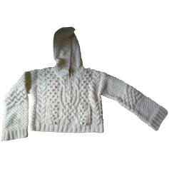 Pullover ZARA Weiß, elfenbeinfarben