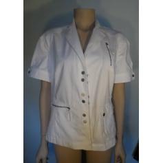 Blazer, veste tailleur BLEU DE SYM Blanc, blanc cassé, écru