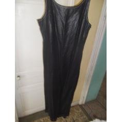Robe longue BANDOLERA Noir