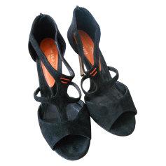 Sandales à talons ATELIER MERCADAL POUR ANDRÉ Noir