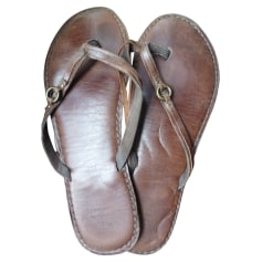 Tongs ABERCROMBIE & FITCH Marron