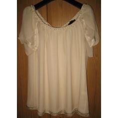 Top, tee-shirt BANANA REPUBLIC Blanc, blanc cassé, écru