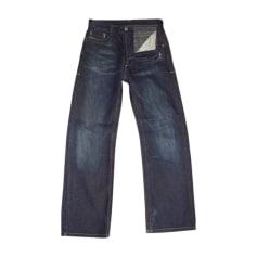 Jeans large Diesel  pas cher