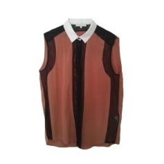 Top, t-shirt SANDRO Beige, cammello