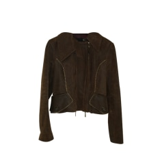 Zipped Jacket JUST CAVALLI Brown