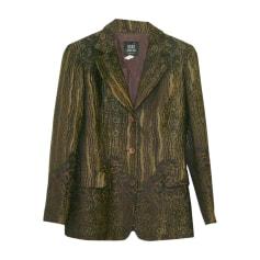 Blazer, veste tailleur ANNA SUI Doré, bronze, cuivre