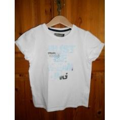 Tee-shirt JEAN BOURGET Blanc, blanc cassé, écru