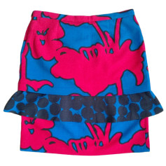 Midi Skirt MOSCHINO CHEAP AND CHIC Multicolor