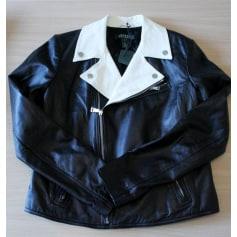 Leather Zipped Jacket RALPH LAUREN Black