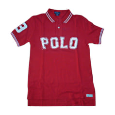 Polo RALPH LAUREN Rouge, bordeaux