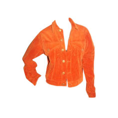 Veste JEAN PAUL GAULTIER Orange