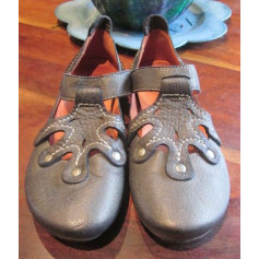 Ballet Flats COCO & ABRICOT Gray, charcoal