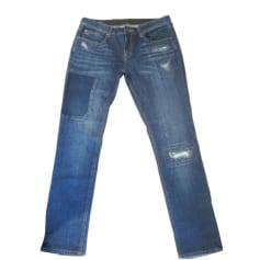Jeans large, boyfriend Quiksilver  pas cher