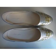 Ballet Flats MELLOW YELLOW Silver