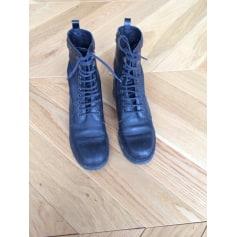 Bottines & low boots motards SANDRO Noir