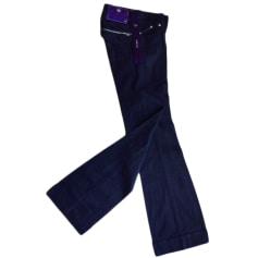 Jeans molto svasati, a zampa d'elefante DVB BY VICTORIA BECKHAM Blu, blu navy, turchese