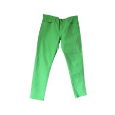 Jeans droit RALPH LAUREN Vert