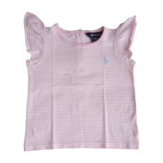 Top, t-shirt RALPH LAUREN Rosa, fucsia, rosa antico