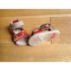 Sandals NOËL Red, burgundy