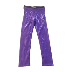 Leggings JUNIOR GAULTIER Purple, mauve, lavender