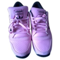 Baskets ADIDAS Rose, fuschia, vieux rose