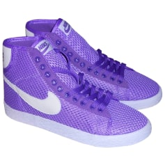 Sneakers NIKE Purple, mauve, lavender