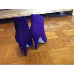 Bottines & low boots à talons STEVE MADDEN Violet, mauve, lavande