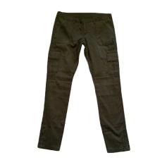 Pantalon slim, cigarette ABERCROMBIE & FITCH Kaki
